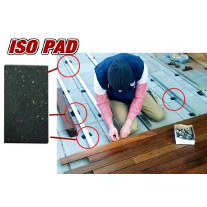 ISO gummipad zum Einrichten der Unterkonstruktion Ihrer...