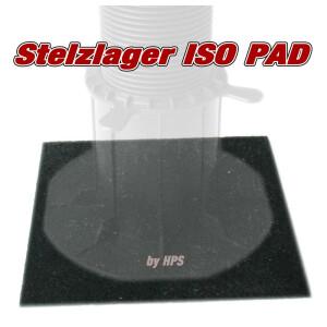 ISO -Stelzlagerpad Pad 18x18cm - 20 Stück