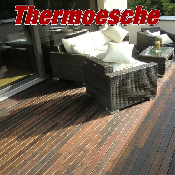 7,5m² Thermoesche Holzterrasse - Abverkauf RESTPOSTEN