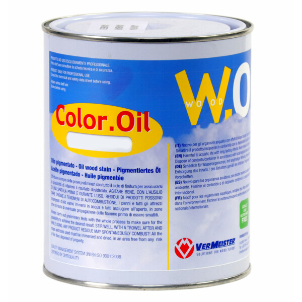 Color OIL W.OIL NERO 1lt - Vermeister