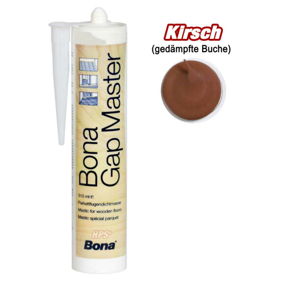 Kirsch (gedämpfte Buche) - Bona Gap Master - Fugenmasse - Kartusche 310ml