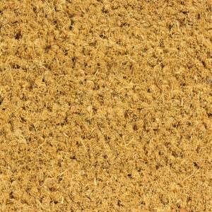 Kokosmatte NATUR 17mm Maßzuschnitt - Zuschnitt