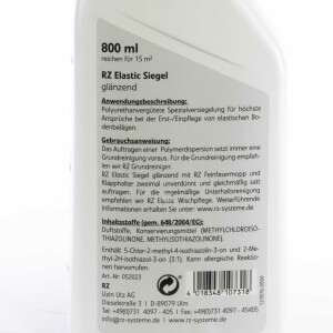 RZ Elastic Siegel, Glänzend 800 ml