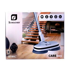 Scheucher CareBoy - Polier & Reinigungsmaschine mit Sprühfunktion, Akkubetrieb und LED Licht