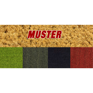 MUSTER - Kokosmatte - Farbmuster