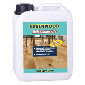 Greenwood Holzbodenseife 3lt - Reinigung geöltes...