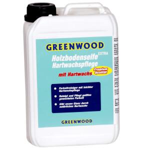 Greenwood Holzbodenseife EXTRA Hartwachspflege 3lt