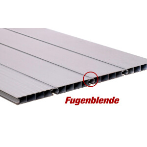 Aluminium Terrassendiele - Anthrazitgrau - RAL 7016