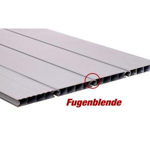 Aluminium Terrassendiele Alu Silber Eloxiert
