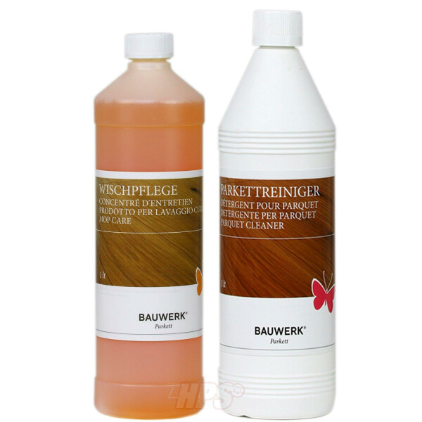 Bauwerk Parkett Cleaning and Care Set for oiled surfaces