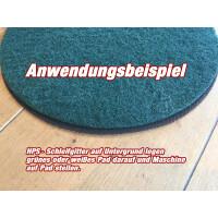 3Stück Schleifnetz - Schleiffolge 80-100-120 Schleifnetz - Ø 30cm