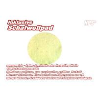HPS® 12-Stück-Pad Set -5xGrüne, 5xWeiße Pads und 2xSchafwolle Polierpad, Ø 30...