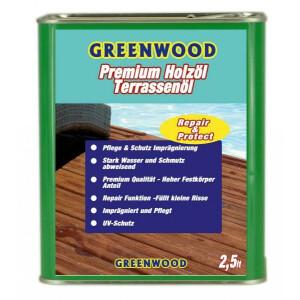 Holzöl Farblos 2,5lt. - Repair&Protect -...
