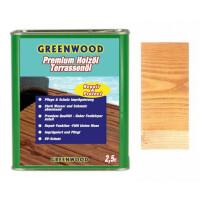 Holzöl Bambus-Hell, Iroko 2,5lt. - Repair&Protect - Greenwood - Premium Holzöl