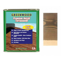 Holzöl Ebenholz (Schwarz) 2,5lt. - Repair&Protect - Greenwood - Premium Holzöl