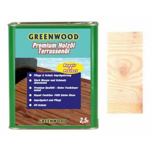 Holzöl Weiß 2,5lt. - Repair&Protect -...