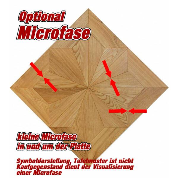 Microfase in und um der Platte